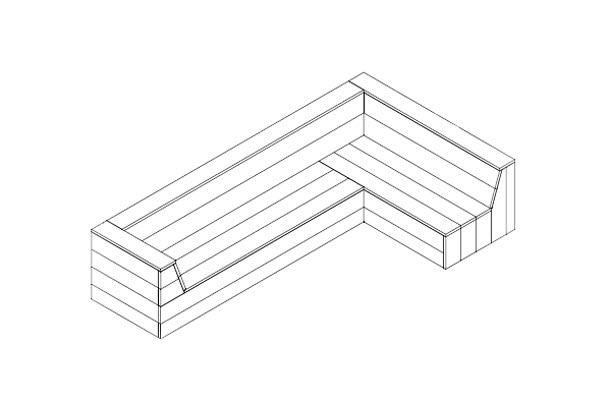 bouwtekening steigerhouten hoekbank downloaden