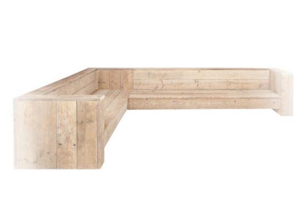 zelf een steigerhouten hoekbank maken bouwtekeningenpakket