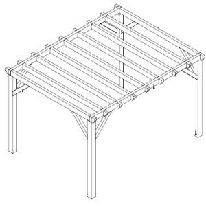 carport bouwtekening