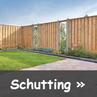 schutting bouwtekening
