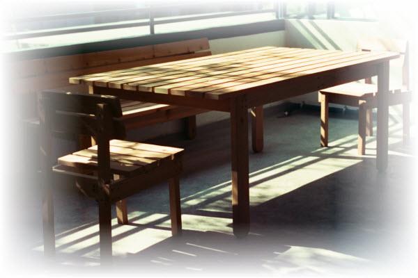 zelf tafel maken met de tafel bouwtekening