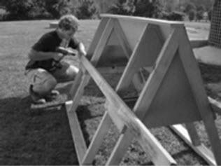 kippenhok bouwpakket